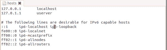 Como editar o arquivo hosts - Linux 2