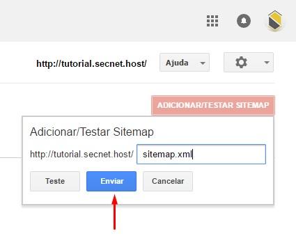 Como criar Sitemap e sua importância - passo 9