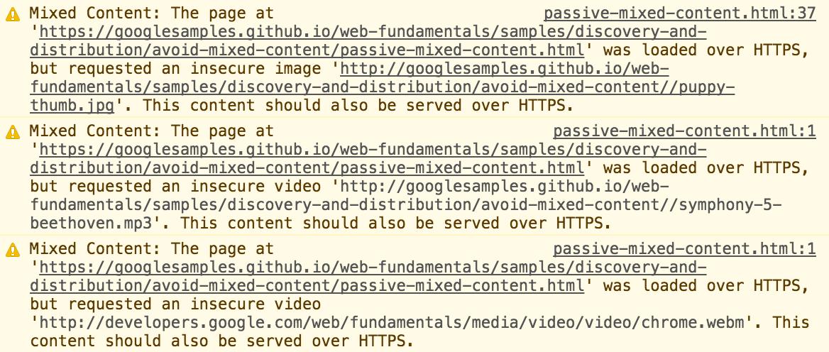 Erro SSL - Alerta de Mixed Content
