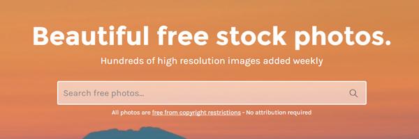 Como trabalhar com imagens no e-Commerce - StockSnap