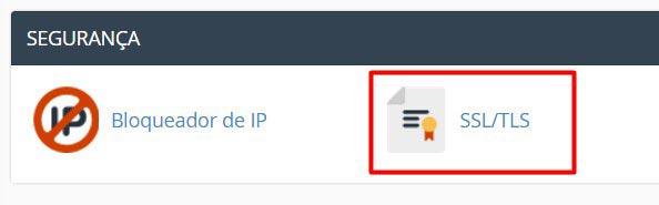 Instalar Certificado SSL - Passo 1