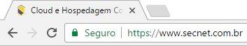 Site seguro - Chrome