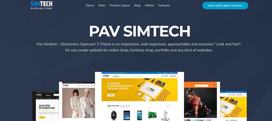 Temas para OpenCart - SIMTECH