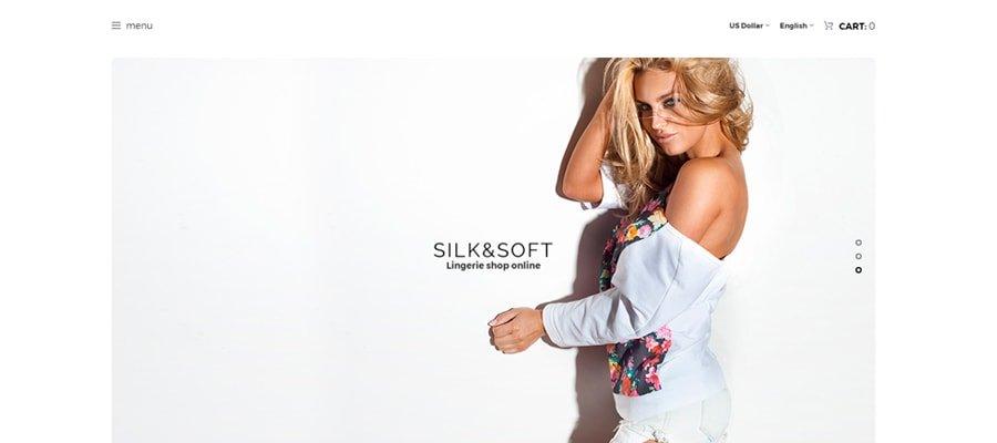 Temas para OpenCart - Silk & Soft