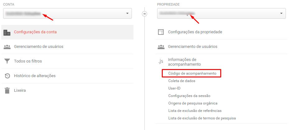 Google Analytics no OpenCart: Como configurar - passo 2