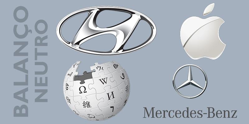 Logomarcas cinza