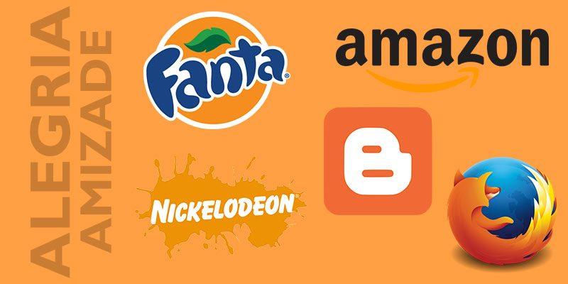 Logomarcas laranja