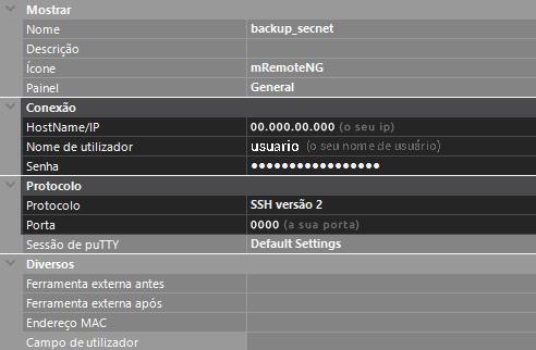 Como fazer backup do site via SSH no Cloud Server - Acessando Cloud Server - SECNET