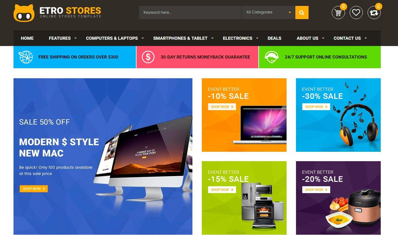 Usabilidade para Magento - Cabeçalho E-commerce - Secnet