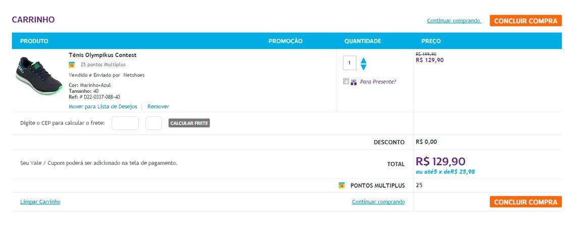 Usabilidade para Magento - Carrinho de Compras E-commerce - Secnet