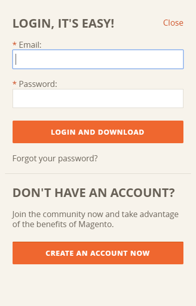 Downloa do Magento - Passo 3