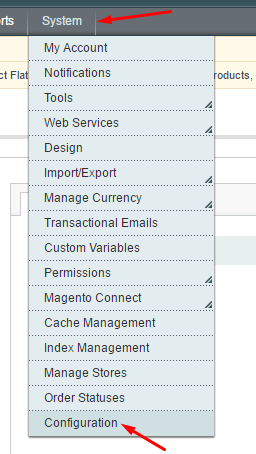 configurar o google analytics no magento