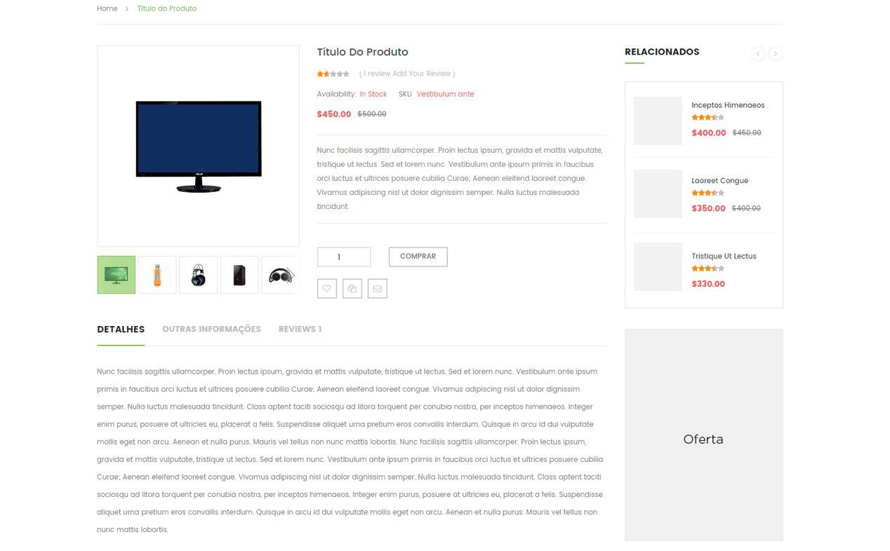 Usabilidade para Magento - Página Produto E-commerce - Secnet