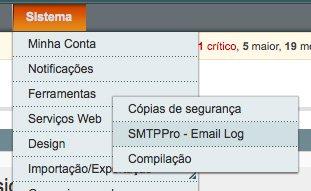 SMTP Pro - ver e-mails enviados