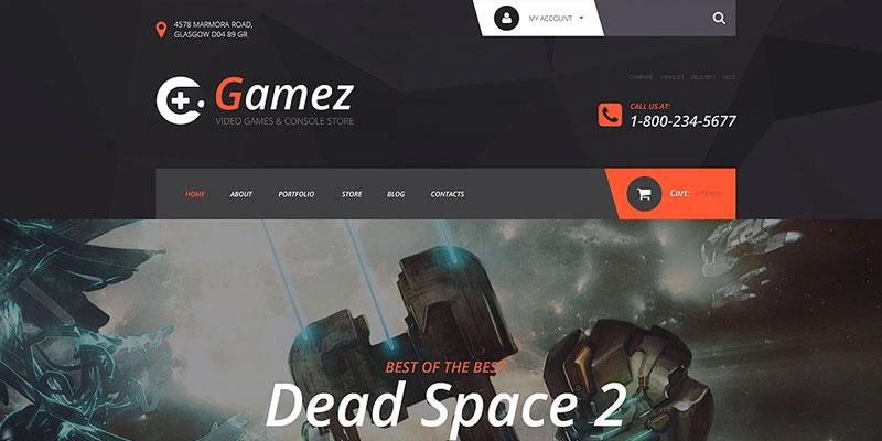 Gamez - Temas WooCommerce para Loja Virtual WordPress - SECNET ...