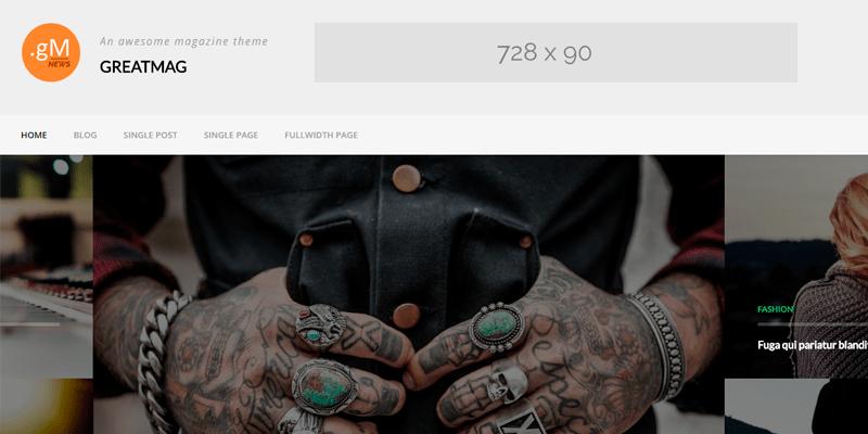 GreatMag Templates - WordPress - Os melhores temas gratuitos