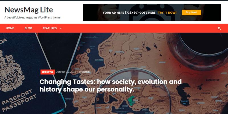 NewsMag Templates - WordPress - Os melhores temas gratuitos