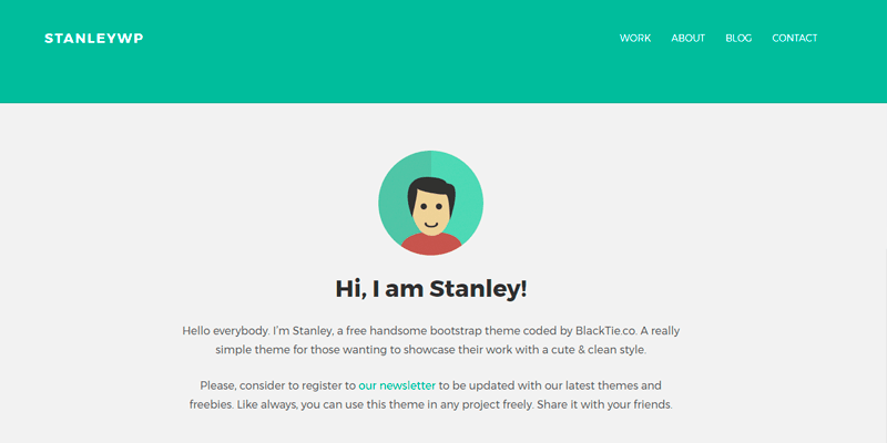 StanleyWP Templates - WordPress - Os melhores temas gratuitos
