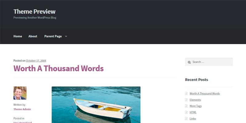Storefront Templates - WordPress - Os melhores temas gratuitos