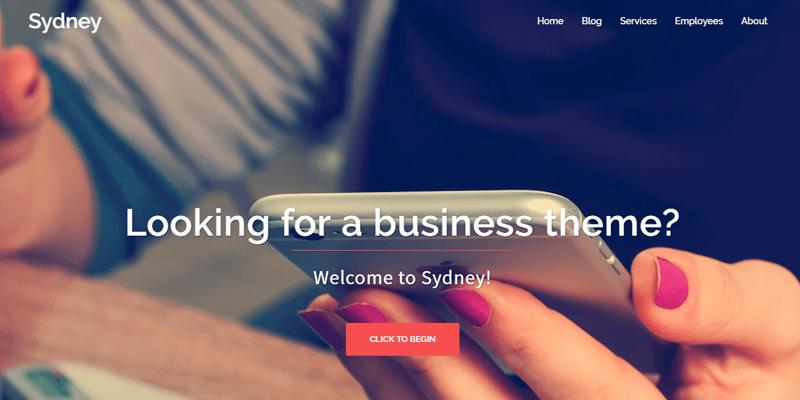 Sydney Templates - WordPress - Os melhores temas gratuitos