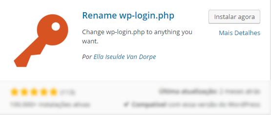 Alterar o URL Admin do WordPress - wp-login