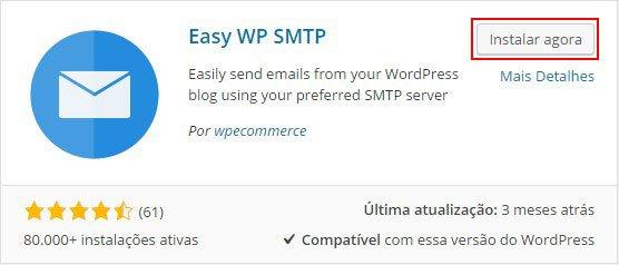 Como enviar e-mail autenticado no WordPress - Segundo passo