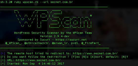Como instalar WPSCAN e encontrar vulnerabilidades no WordPress - SECNET