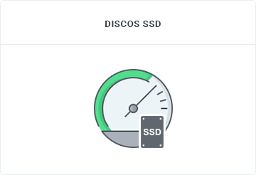 Discos SSD - Cloud Server - SECNET