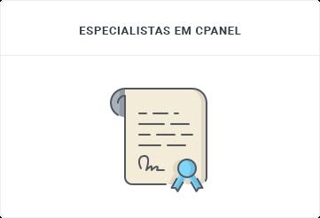 Especialista em cPanel - Gerenciamento cPanel - SECNET