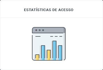 Estatísticas de acesso - Revenda de Hospedagem - SECNET